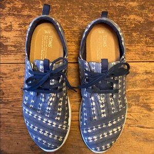 Toms Del Ray Batik Canvas Sneaker